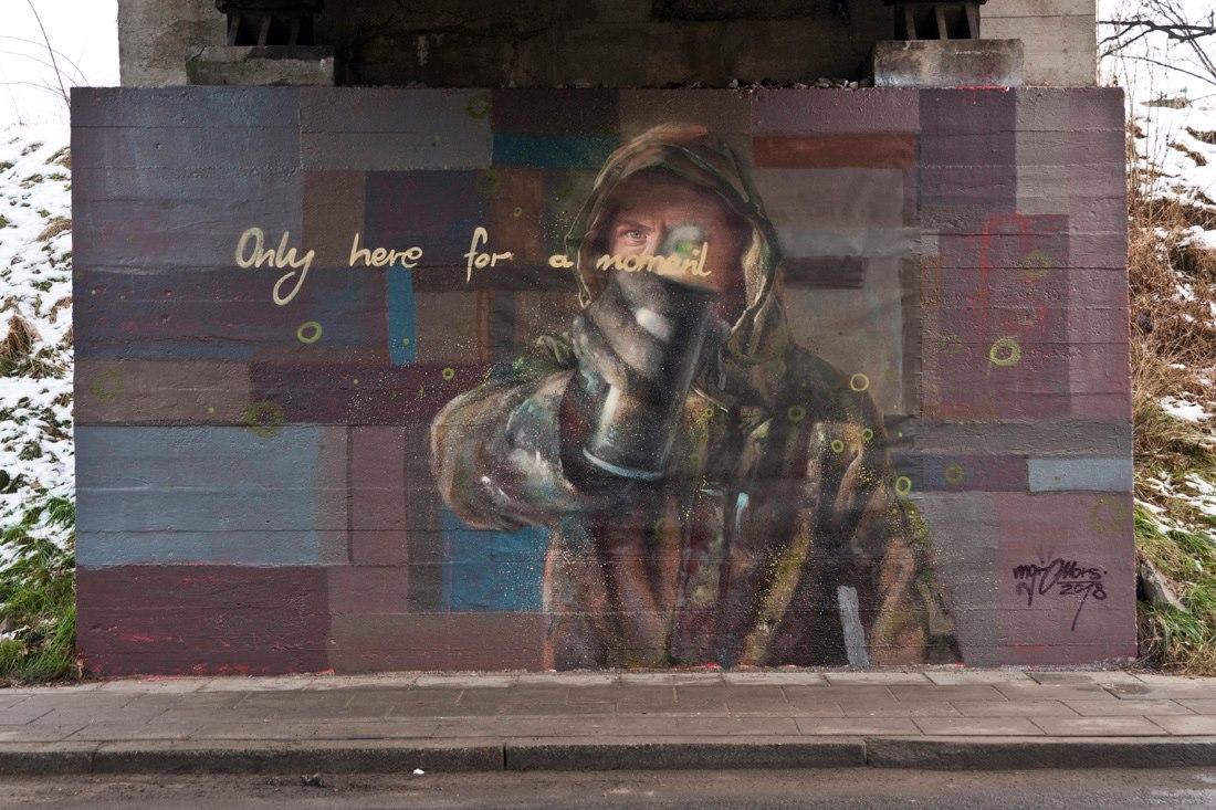 mors graffiti
