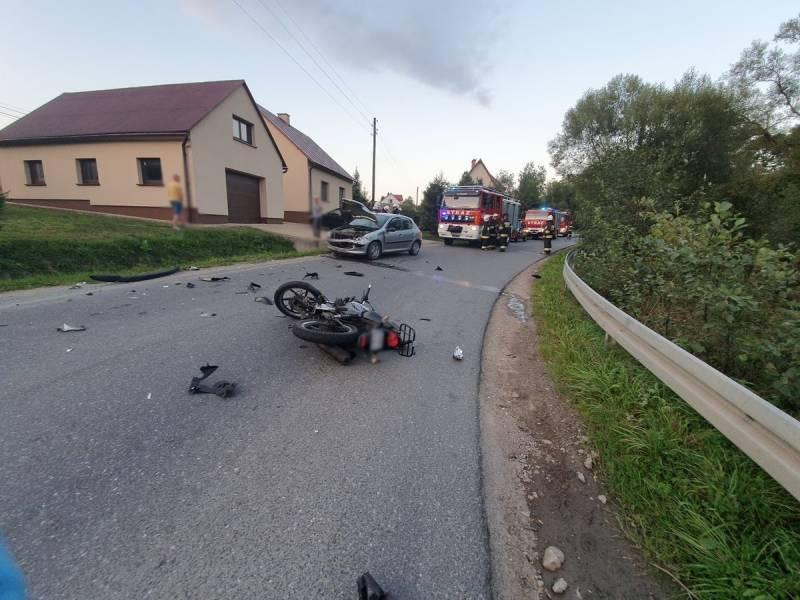 wypadek motor2