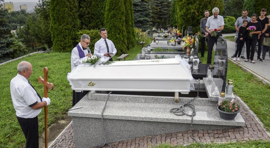 pogrzeb dzieci